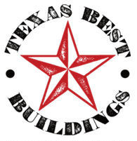 Texas Best Buildings Logo! (254)613-1949 Liberty Hill Texas portable buildings.